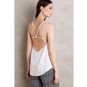E by Eloise strappy back tank top, XS